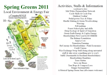 Spring Greens 2011 prog 1