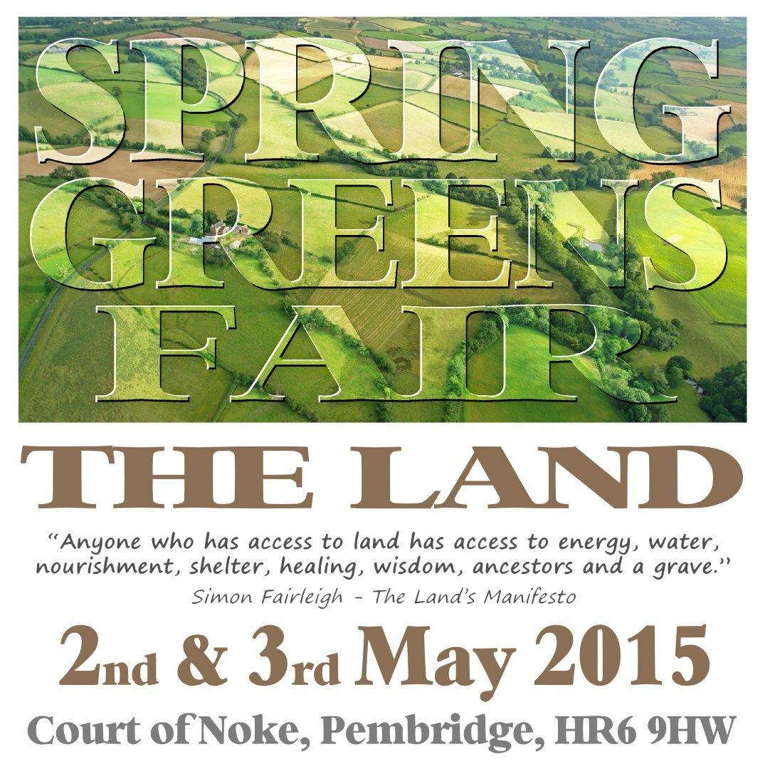 Poster - Spring Greens Fair 2015