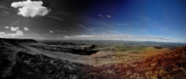 Hay Bluff Panorama by Ben Whittle